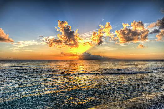 Barbados Sunset by David Pyatt