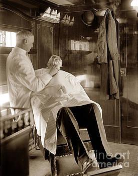 California Views Archives Mr Pat Hathaway Archives - Barbar Shop on the Santa Fe de-Luxe  Passenger train December 19