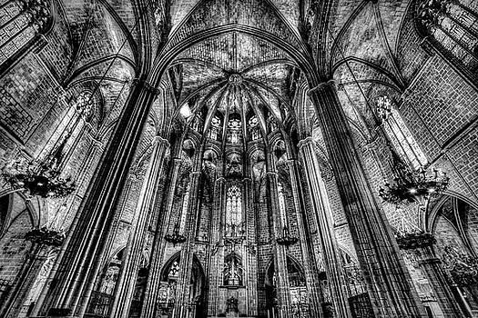 Barcelona City Cathedral by David Pyatt