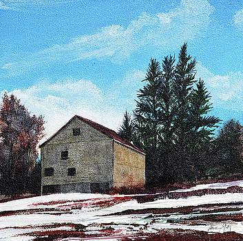 Barn Harlow, MA by Paul Gaj
