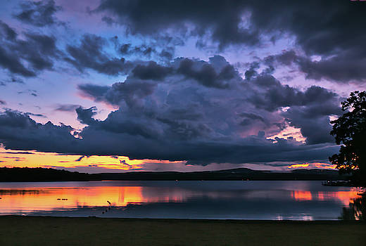 Bartlett Beach-Laconia N H by Mim White