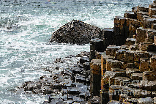 Bob Phillips - Basalt Columns in the Atlantic Ocean