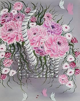 Basket full of beauty by Angela Whitehouse