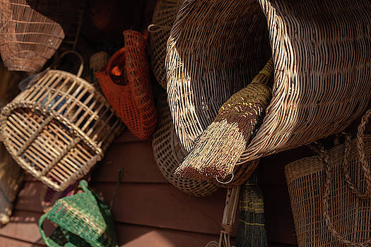 Baskets and Brooms by Jeanette Fellows