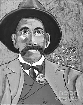 David Hinds - Bass Reeves - Black and White