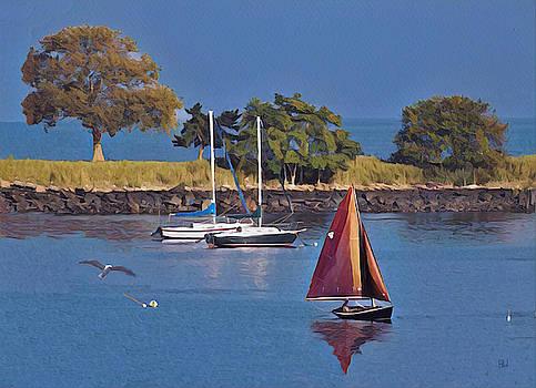 Bay sail by Alan Thal