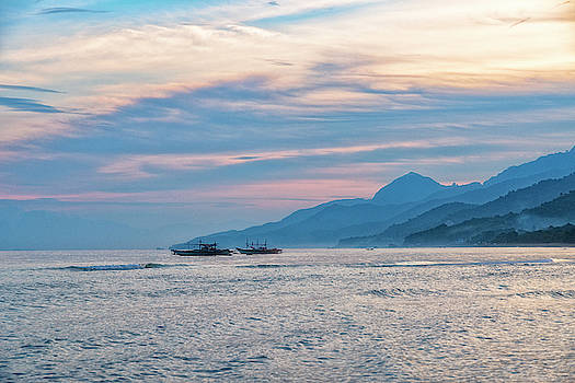 Batangas Sunset by Russell Pugh