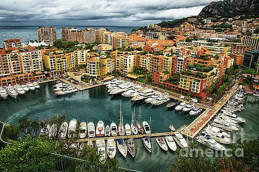 Bay of Monte Carlo Monaco by Wayne Moran