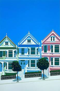 Bay view Wall Art by Brian James