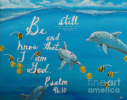 Be still by Heather James