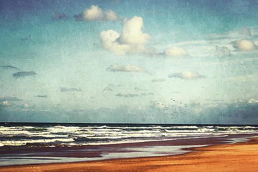 Beach - A photo painting by Dirk Wuestenhagen