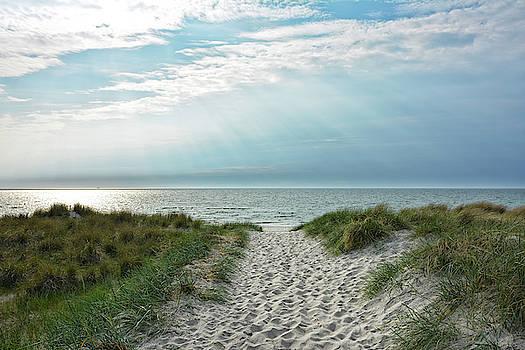 Beach Access by Joachim G Pinkawa