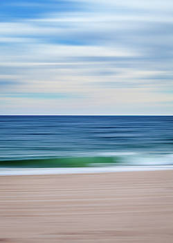 Beach Blur by Eric Full