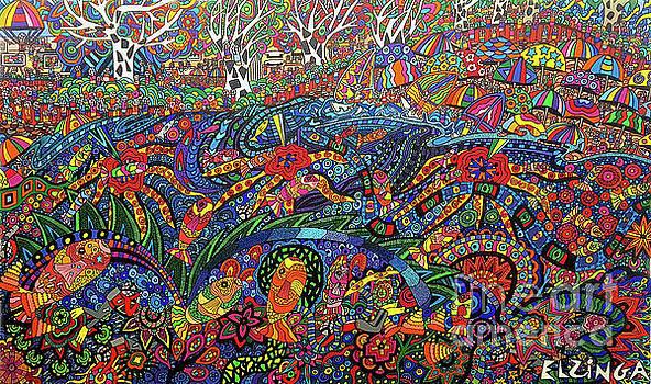 Beach Culture by Karen Elzinga