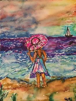 Beach dreams by Robin Gill