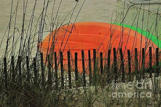 Beach Kayaks by Angela Stafford