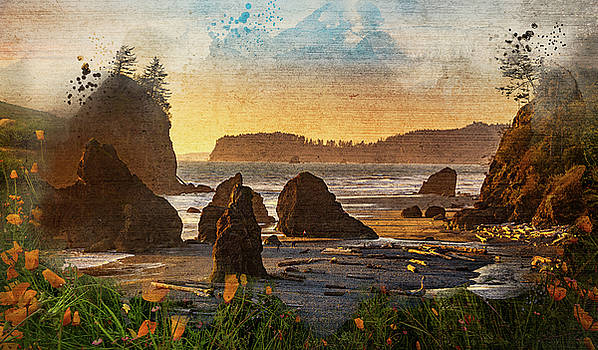 Mike Penney - Beach Painting