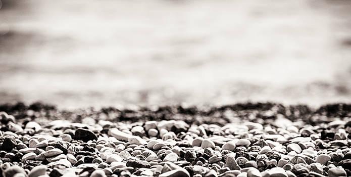 Beach Pebbles by Lenochka Blonsky