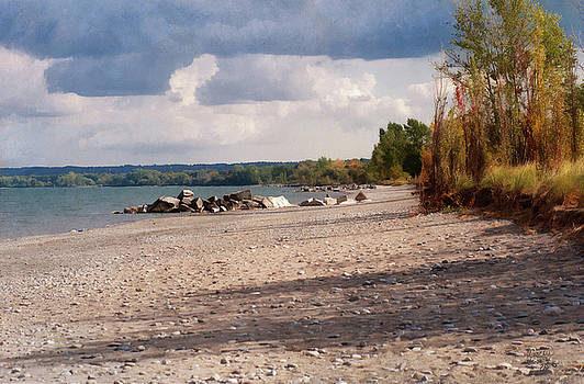 Beach Storm by JGracey Stinson