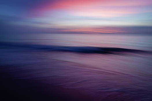 Beach Sunrise Wave Abstract by R Scott Duncan
