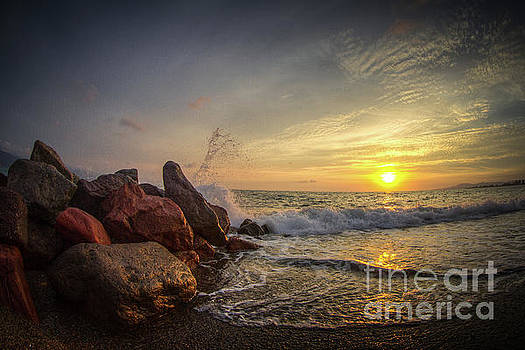 Beach Sunset by Habashy Photography