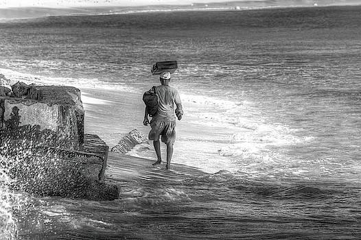 Beach Trader Barbados by David Pyatt