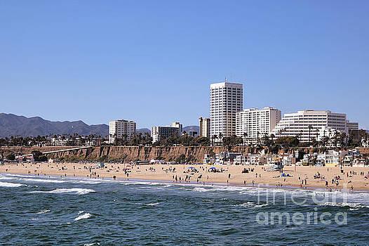 Diann Fisher - Beachfront Santa Monica Seascape