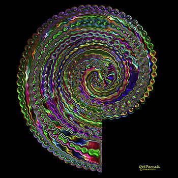 Beadwork Spiral Metallic by Diane Parnell