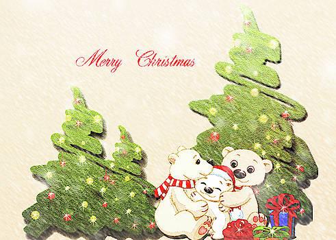 Bear Christmas by Leticia Latocki