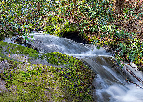 Bear Creek Waterfall Long Exposure by Keith Smith