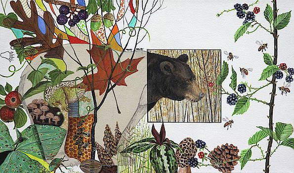 Bear Habitat by Trena McNabb