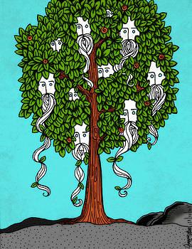 Beard Fruit Tree by Jayme Kinsey