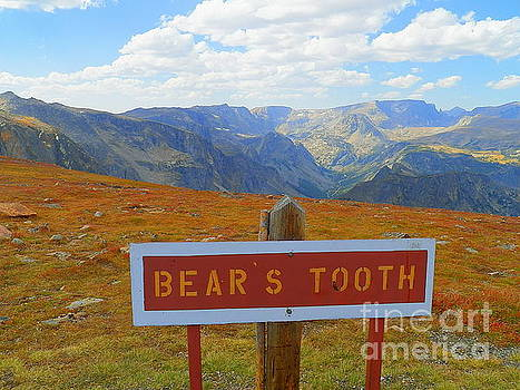 Bear's Tooth Beartooth Highway Route 212, Montana And Wyoming All American Road by Art Sandi