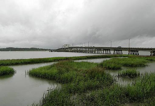 Beaufort Bridge Tidal Basin by Norma Brandsberg