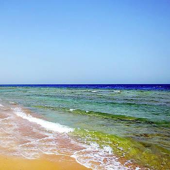 Beautiful African Seashore And Seascape by Johanna Hurmerinta