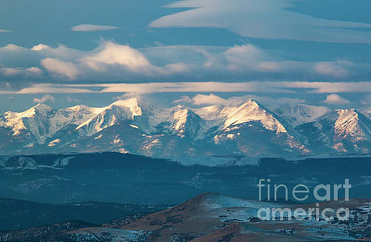 Beautiful Clouds on the Sangre by Steve Krull