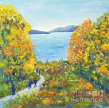 Beautiful colors of the fall by Olga Malamud-Pavlovich