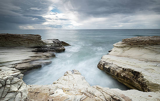 Beautiful dramatic Seascape by Michalakis Ppalis