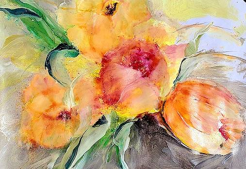 Beautiful Loose Floral Two by Lisa Kaiser