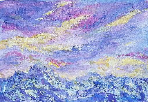 Beautiful mountains by Olga Malamud-Pavlovich
