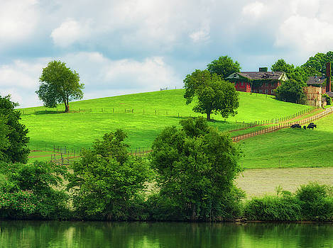 Beautiful Tennessee Countryside by Dee Browning