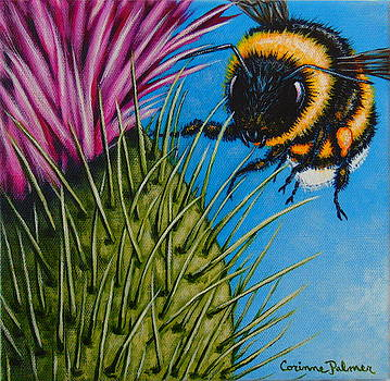 Bee Courageous by Corinne Palmer