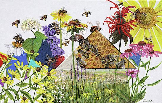 Bee Habitat by Trena McNabb