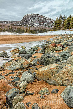 Beehive Mountain Acadia National Park by Elizabeth Dow