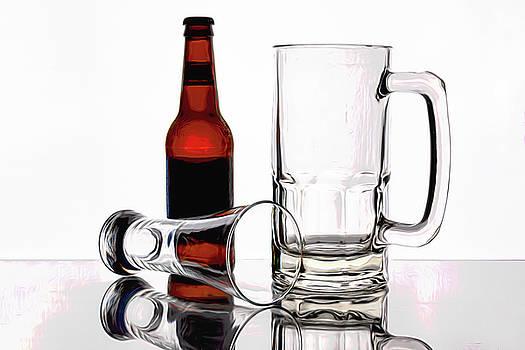 Tom Mc Nemar - Beer Bottle and Glasses