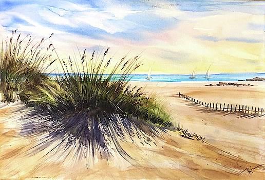 Behind the dunes  by Katerina Kovatcheva
