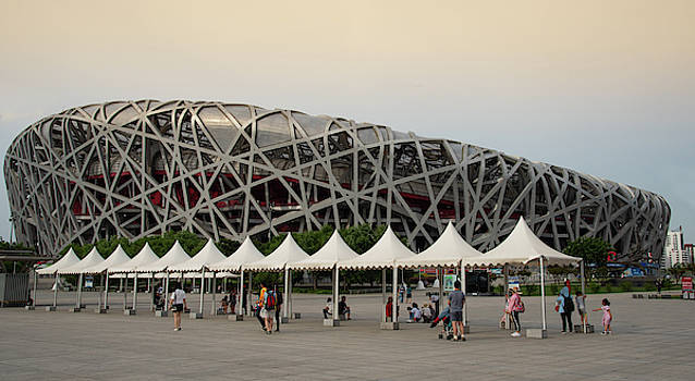 Beijing Olympic park by Michalakis Ppalis