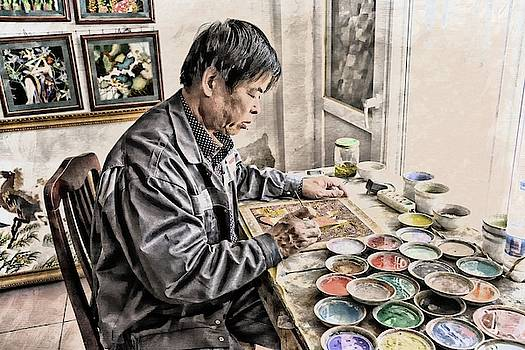 Beijing Painter by Toni Abdnour