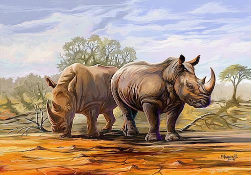 Being Big by Anthony Mwangi