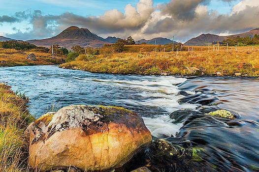 David Ross - Beinn Alligin from the River Balgy